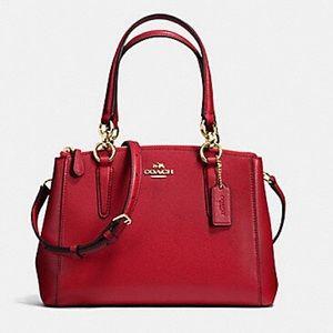 Coach Mini Christie Carryall - True Red